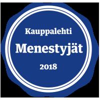 Menestyjät-merkki 2018